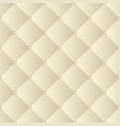 quilted fabric seamless pattern vector image
