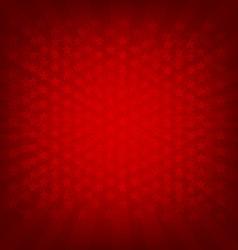 Red Sunburst Banner vector image