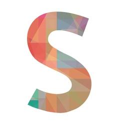 S alphabet vector