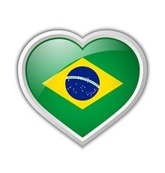 Brazilian icon vector image vector image