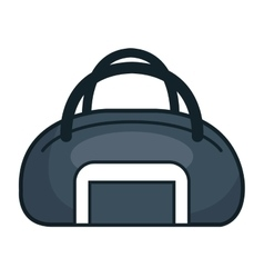 handle bag gym isolated icon vector image