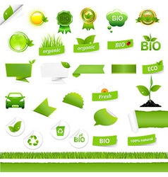 Bio Signs Set vector image vector image