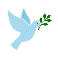 Bird peace symbol vector image vector image