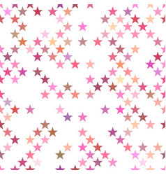abstract pentagram star pattern background vector image