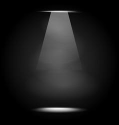 Dark spotlight design background for element vector