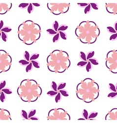 Decorative floral vector image