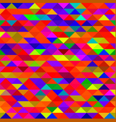 mosaic triangles texture vector image