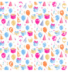 party pattern grange vector image