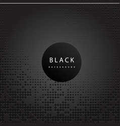 perforated black metallic pattern black background vector image