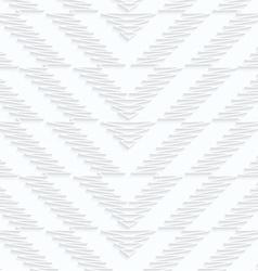 Quilling paper scribbled chevron vector