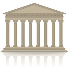 RomanGreek pantheon vector image