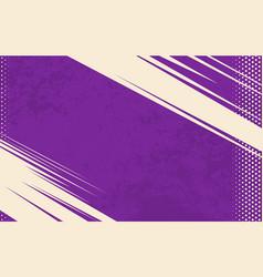 comic book background grunge halftone vector image