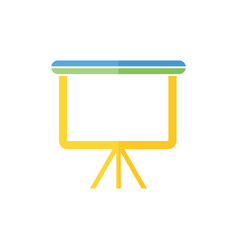 presentation icon presentation logo vector image