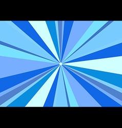 Rays Radius Background Center Blue vector image vector image