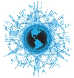 globalization vector image vector image