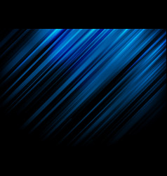 Abstract blue stripe diagonal lines light vector