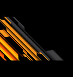Abstract yellow orange grey cyber circuit no black vector