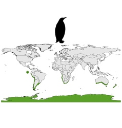 Penguins range vector