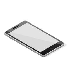 Blank screen smartphone vector image