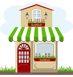 House and store vector