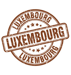 Luxembourg stamp vector