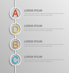 infographic5 vector image vector image