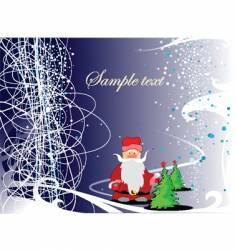 charismas greeting card vector image