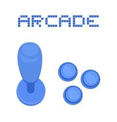 arcade symbol vector image