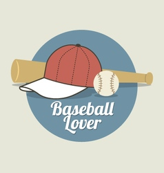 Baseball Lover vector image vector image