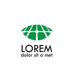 land farm abstract logo vector image vector image