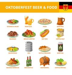1602i122129Pm005c20oktoberfest beer food set vector