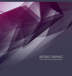 Abstract futuristic purple background in dark vector