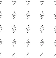 abstract pop art pattern with lightning bolts vector image