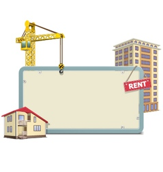 Homebuilding Board vector image