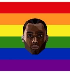 LGBT community member vector image