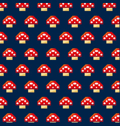 pixelated video game icons vector image