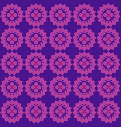 Plum ornamental swirl hot pink background vector