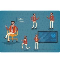 Student Daniel flat character vector