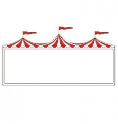 circus border vector image vector image