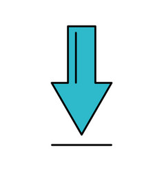 download arrow business direction information vector image vector image