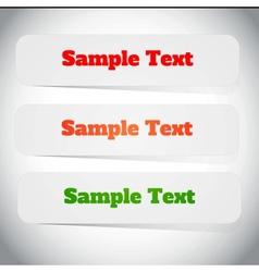 Paper cut vector image