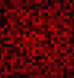 Red pixels vector image vector image