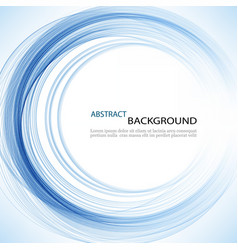 abstract background with color spiral vector image