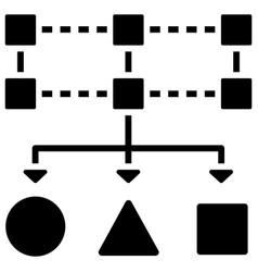 Data classification solid vector