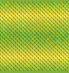 pattert-fish-yellow vector image