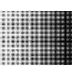 pop art background halftone dots black and white vector image