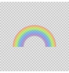 Realistic Rainbow vector image