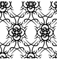 seamless repeating modern tribal tattoo background vector image
