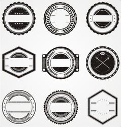 Vintage Label Templates vector image