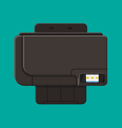 computer printer laser or inkjet vector image
